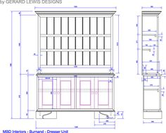 Wooden Kitchen Dresser Plans Google Search