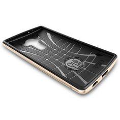 LG G4 Kılıf, Spigen Neohybrid - Champagne Gold