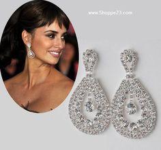 Large Crystal Chandelier Earrings 2+