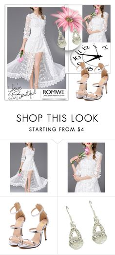 """""""ROMWE  6"""" by melissa995 ❤ liked on Polyvore featuring LIST"""