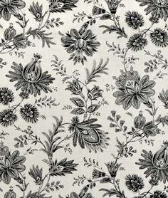 I really like black and white fabric designs