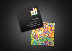 40 Stunning Examples of Square Business Cards Design