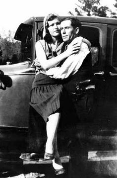 Blanche and Buck Barrow, Bonnie & Clyde gang