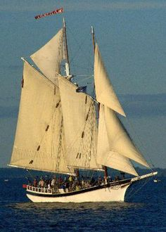 Schooner Manitou, Tall Ships in Traverse Bay