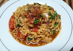 Resep Mie godog jawa no vitsin oleh AyuAnita Petrisia Indonesian Food, Indonesian Recipes, Asian Recipes, Ethnic Recipes, Asian Foods, Mie Goreng, Noodle Recipes, Food Diary, Noodles
