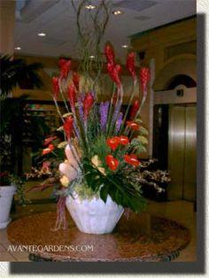 hotel lobby flower decorating ideas - ค้นหาด้วย Google