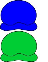 blue and gree ice cream scoops for colour matching exercise Movement Preschool, Kindergarten Activities, Classroom Activities, Book Activities, Preschool Activities, Mig E Meg, Diy Busy Books, Oral Motor Activities, Dramatic Play Themes