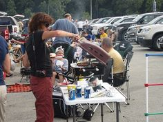 Tailgating at a Milwaukee Brewers game is like tailgating for an NFL game!
