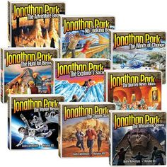 Jonathan Park Complete Series -On Sale at Answers in Genesis
