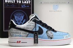 f650c5af659ec2 The 2012 President Obama Sneakers Celebrate Another Four Years  trendhunter.com Air Force 1