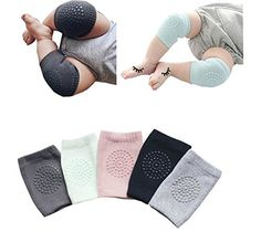 Peds Baby Knee Pads Comfy Crawlers Cushioned Girls Kitty One Size Shower Gift