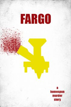 Fargo (1996) ~ Minimal Movie Poster by Brian Belanger #amusementphile