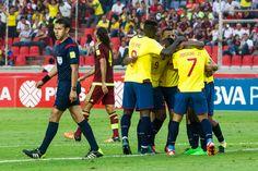 ELIMINATORIAS SUDAMERICANAS RUSIA 2018 FECHA 4: ECUADOR VENCE A VENEZUELA 3 A 1 Y SIGUE CON PUNTAJE PERFECTO