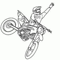 Dibujo de: dibujo,motocross,motociclismo,salto,gratis