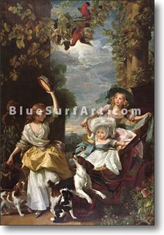 The Three Youngest Daughters of King George III - £124.99   Canvas Art c0d12d4f88c5f