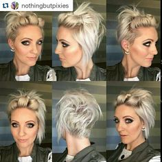 5 Coiffures Hyper faciles Rapides et Pratiques Pour Cheveux Courts! 5 Easy and Fast Hyper Hairstyles For Short Hair! Pretty Hairstyles, Bob Hairstyles, Hairstyle Ideas, Korean Hairstyles, Latest Hairstyles, Five Minute Hairstyles, Great Hair, Amazing Hair, Hair Today