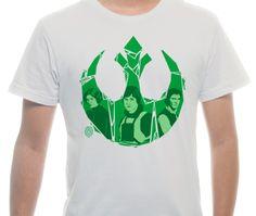 Imagem da camiseta ilustrada Rebel por Tiago Conceicao