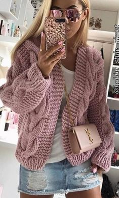 5 Solid Colors New Women Spring Autumn Knit Pocket Cardigan Long Coat Long Sleeve Sweater Causal Loose Sweater Coat Outwear Overcoat Crochet Jacket, Knit Crochet, Long Sleeve Sweater, Sweater Cardigan, Chunky Cardigan, Cardigan Pattern, Open Cardigan, Tricot D'art, Warm Sweaters