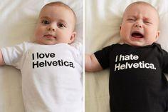 Helvetica - hate it or love it