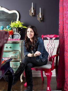 Visit Anitra Mecadon in her personal den | Mega Dens | DIY