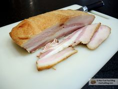 Man Fuel Food Blog - Homemade Cured and Smoked Bacon Recipe