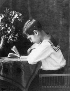 Tsarevitch Alexei Romanov 1913 - official portrait