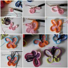 DIY Simply Crochet Butterfly