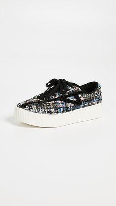 watch 9e48b 50c54 Tretorn Bold Sneakers De Encaje, Zapatillas, Zapatos