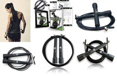 This #Fitness #JumpRope seeks to help individuals reach their peak fitness goals by providing quality manufactured fitness gear that will better and optimize their workout.  We know how fast the day goes, so we understand that the precious time spent working out should be a positive and hassle free experience.