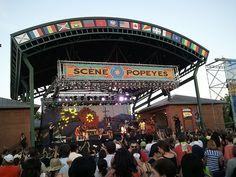 Festival International de Louisiane, Lafayette, Louisiana