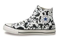 Panda-Printed Sneakers - These Converse Chuck Taylor All Star Panda Shoes Feature Panda Camo