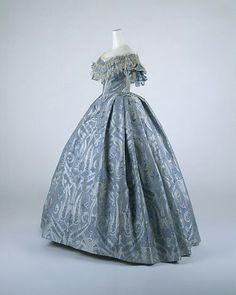 Robe de bal, vers 1860