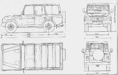 ARO 244F blueprint
