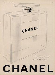 CHANEL - Vogue November 1, 1943 - @~ Mlle