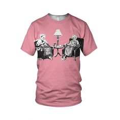 "Punk And Thug Grannies, from the collection of ""Hand Printed"" Designs by the prolific street artist known as ""Banksy"".   More Designs and Styles on the Store: http://www.globalmusicollective.com/store/?product_cat=banksy"