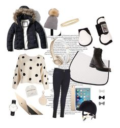 """""""Horseback riding Outfit"""" by lijifhorse on Polyvore featuring Mode, Abercrombie & Fitch, Kate Spade, Beats by Dr. Dre, Accessorize, Topshop, Daniel Wellington, Frye, women's clothing und women's fashion"""