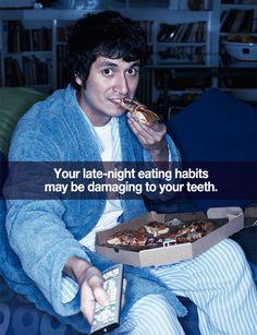 Midnight Snacks And Your Oral Health | San Pedro California Dentist  www.martinandshengdental.com