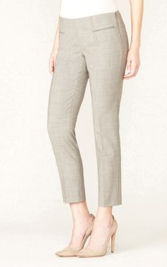 190 Skinny Crop Wool | Alvin Valley - Pants Perfected. Flawless Fit.