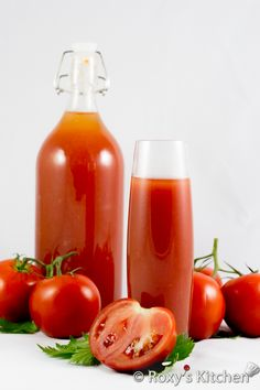 7 Healthy Reasons Why You Should Drink Tomato Juice + Easy Recipe for Preserving Tomato Juice for Winter