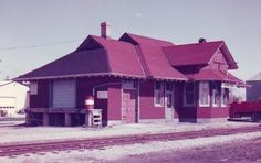 Railway stations in Exeter Ontario Old train station