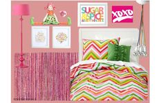 Me and my sister want a neon room i like this one but maybe without the doll on the shelf that creeps me out-kierras pin