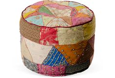 I kinda wanna try and make one of these or big pillows to sit on the floor...with sari materials left over from quilts and such