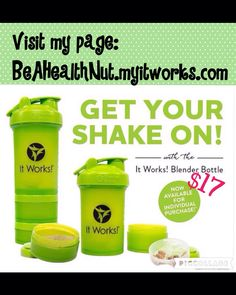 It Works THAT CRAZY WRAP THING It really WORKS!!! SHAKE IT UP CHECK IT OUT AT BeAHealthNut.myitworks.com
