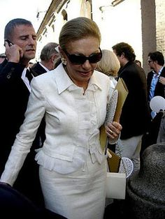 Empress Farah Diba of Iran.