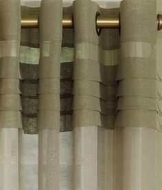 Portico Pleat Grommet Top Slider Panel $99.95
