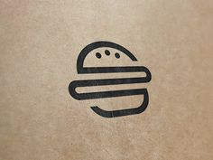 Logo / Burger + Books #logo #LogoDesign #GraphicDesign #Design #DesignInspiration #LogoInspiration #LogoMark