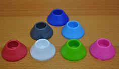 eCig Stands come in Blue, Red, Black, Slate, White and Green.