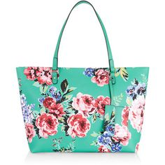 Accessorize Floral Isabella Winged Tote Bag