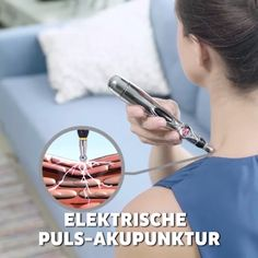Schmerzen selber einfach lindern 😍😱🤗 Akel, the electronic acupuncture pen for targeted relief of pain for home based on Chinese medicine. It remedies chronic and acute problems, is universally applica Health And Wellness, Health Fitness, Dental, News Health, Chinese Medicine, Acupressure, Weight Loss Transformation, Yoga Fitness, Yoga Poses