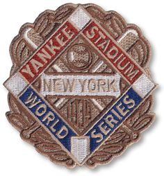 cdf7d1a2271 1939 New York Yankees MLB World Series Championship Logo Patch College  Bowls
